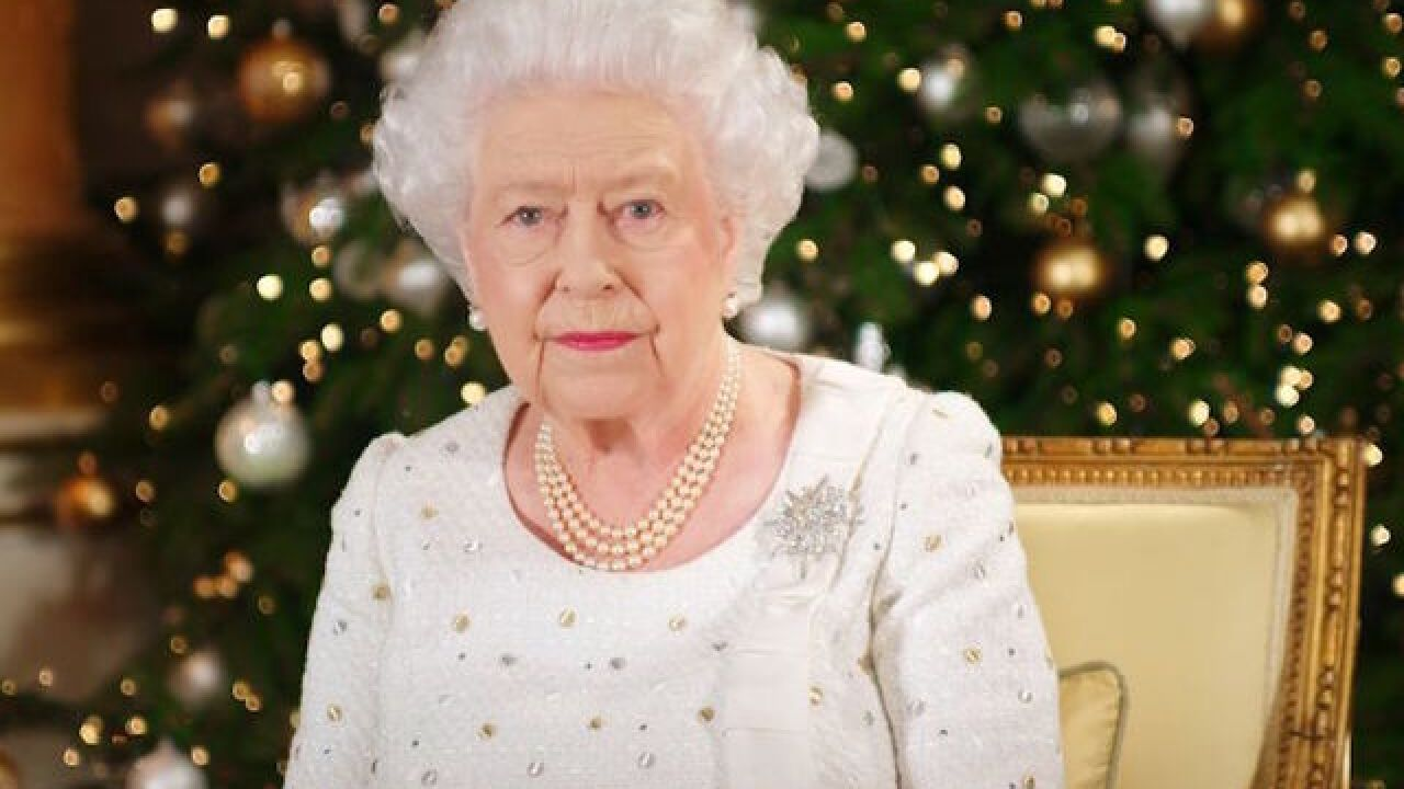 Queen pays tribute to terror victims, fire victims in Christmas speech