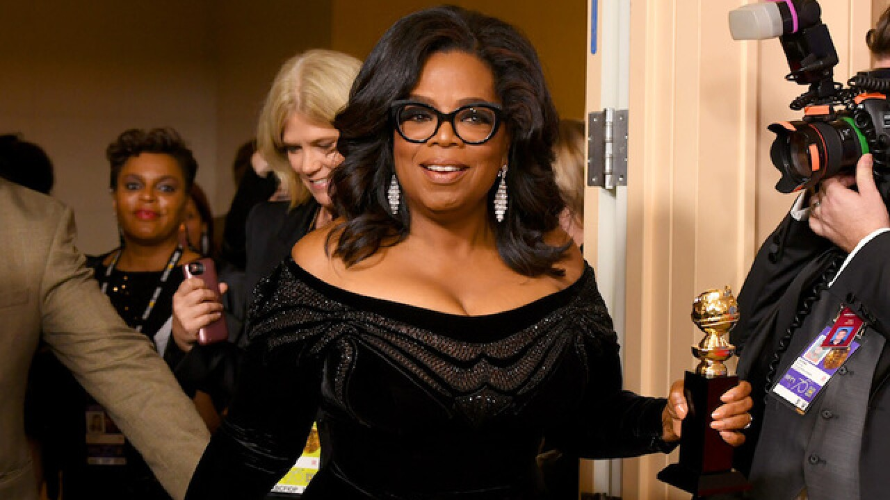 Oprah leads Trump in new poll -- but can't transcend partisan divide
