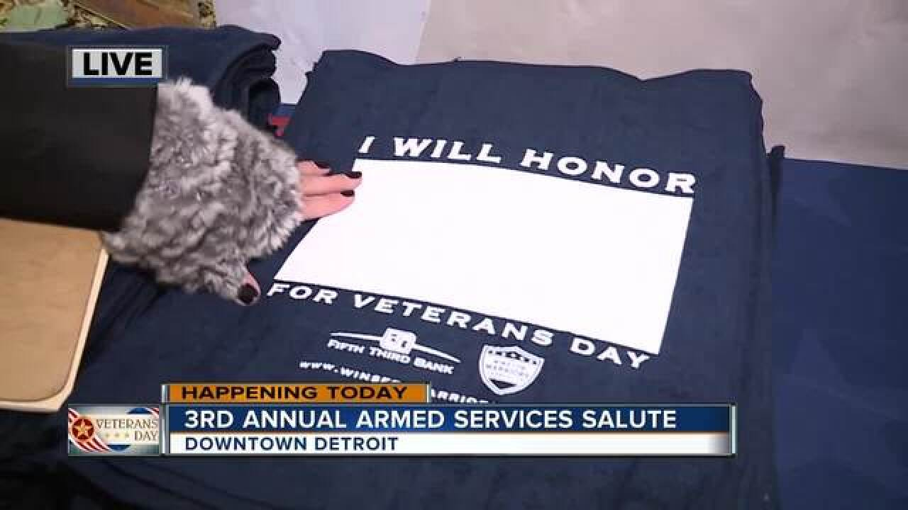 3rd Annual Armed Services Salute