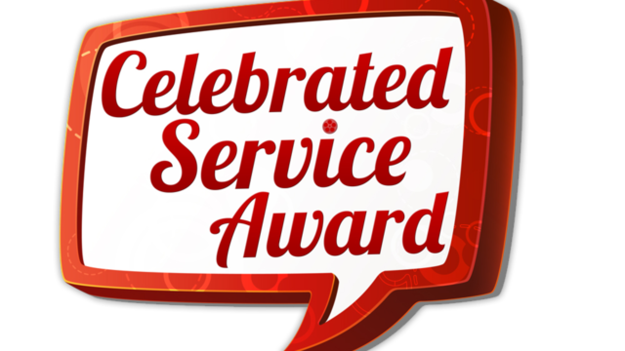 30,000 voters identify the recipients of the 2018 Celebrated Service award