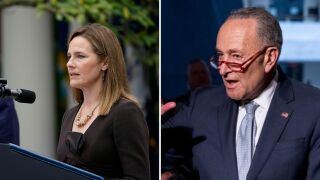 amy coney barrett chuck schumer