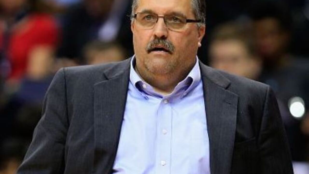 Pistons fire head coach and president Stan Van Gundy