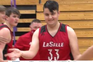 Student manager earns opportunity, makes shot in game