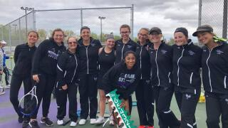 Woodhaven girls tennis