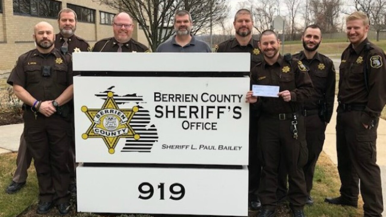 berrien county sheriff's office No Shave November and December 2019.jp