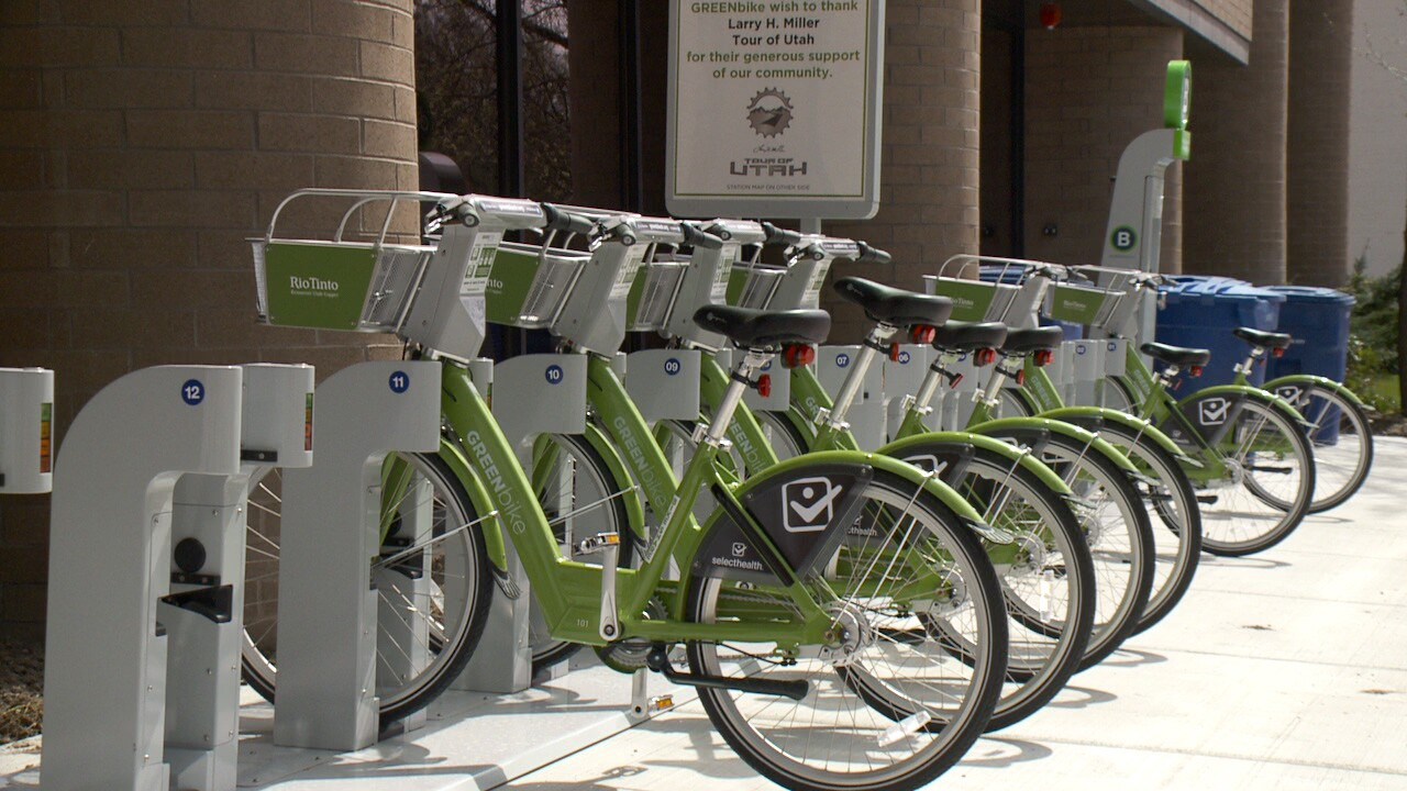 GREENbike offers Free Ride Day in Salt Lake City on Saturday