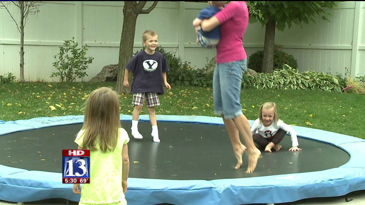 Health group: Trampolines too dangerous for children