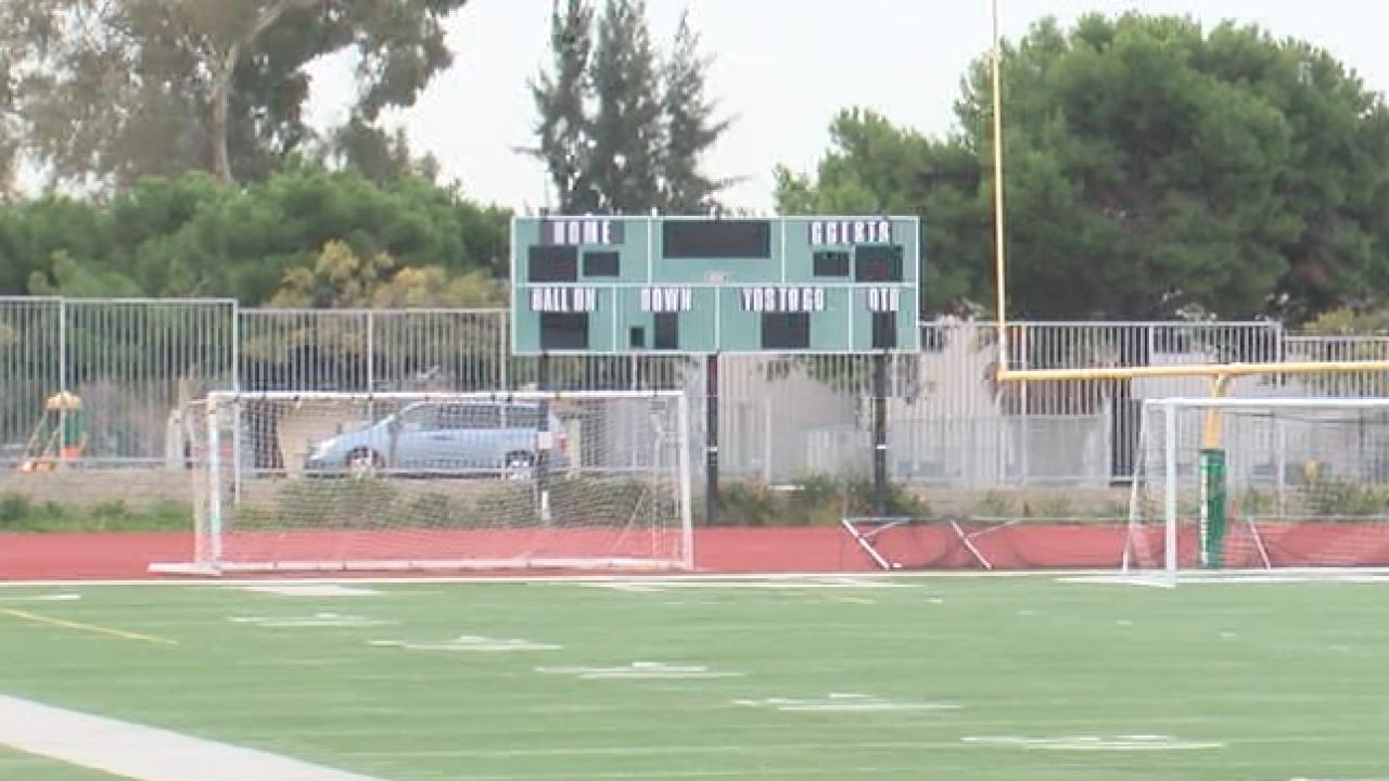 Lincoln High School football field