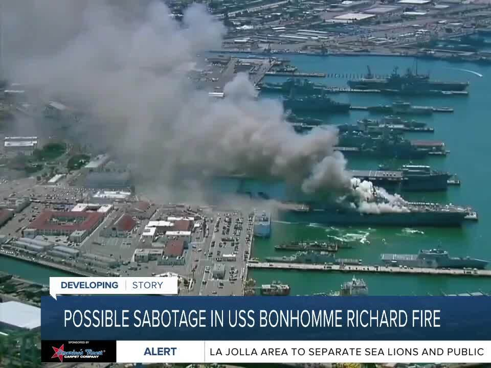 Documents in ship fire probe suggests sabotage, evidence tampering
