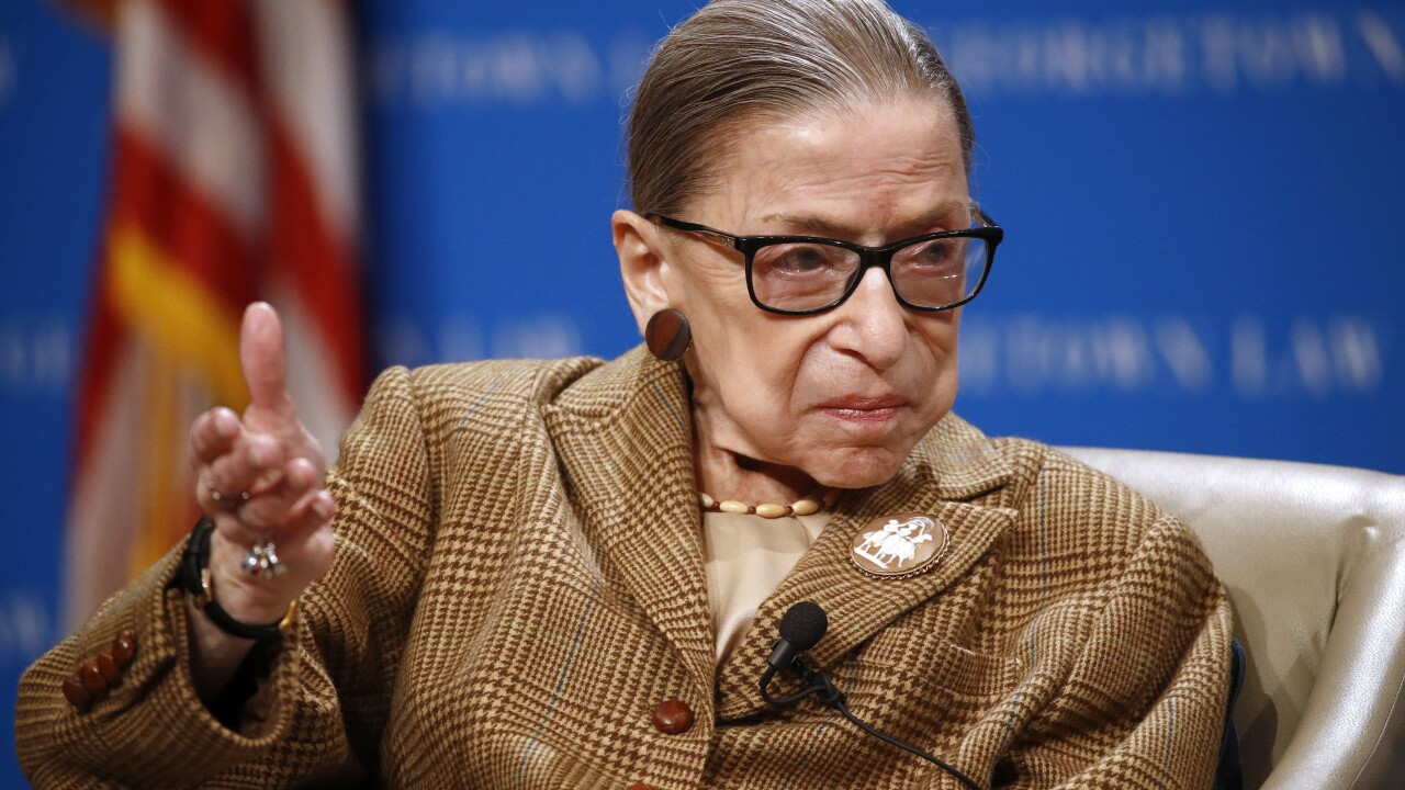 Justice Ginsburg released from the hospital after seeking gallbladder treatment