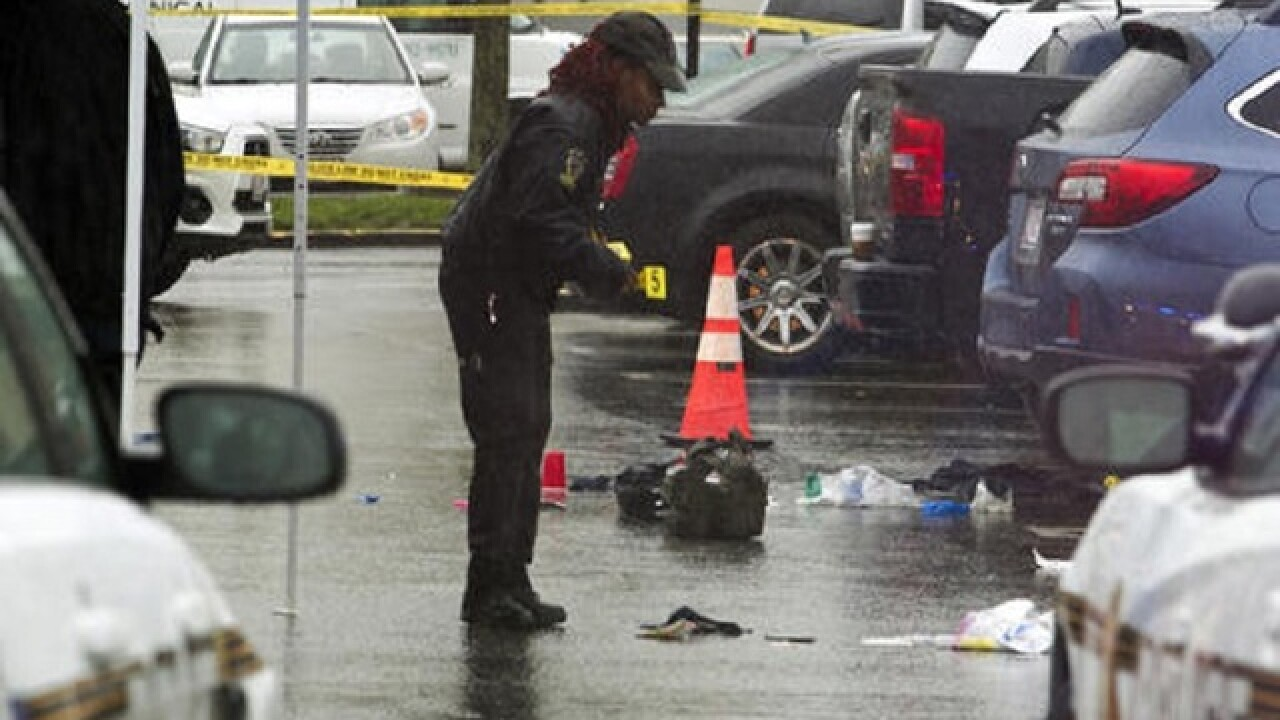Police search for motive in Mass. stabbings