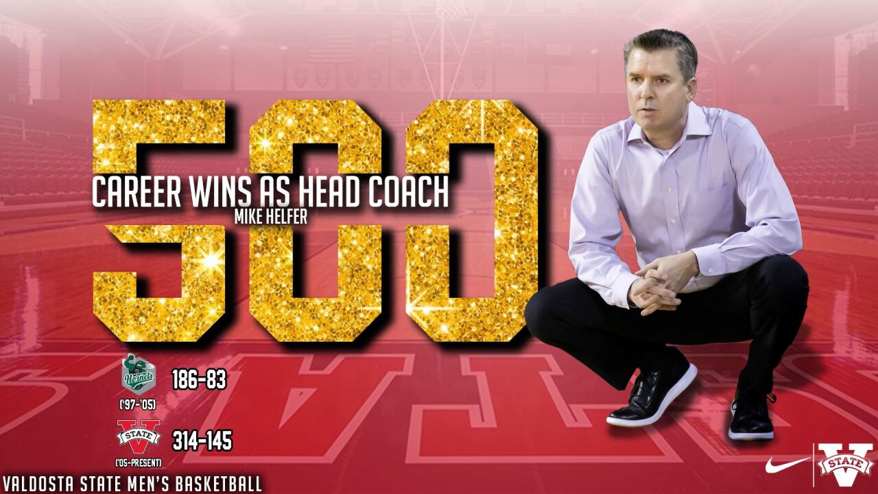 No. 22 Blazers Lifts Head Coach Mike Helfer To 500th Career Win, Outlasting Auburn Montgomery 91-87