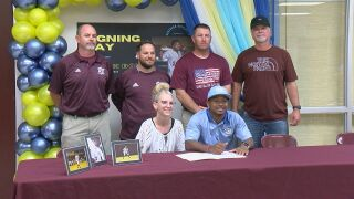 Kohen Boyd Breaux Bridge Baseball Signing