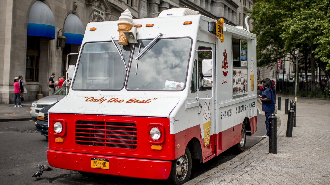 46 ice cream trucks are being seized in a New York City crackdown