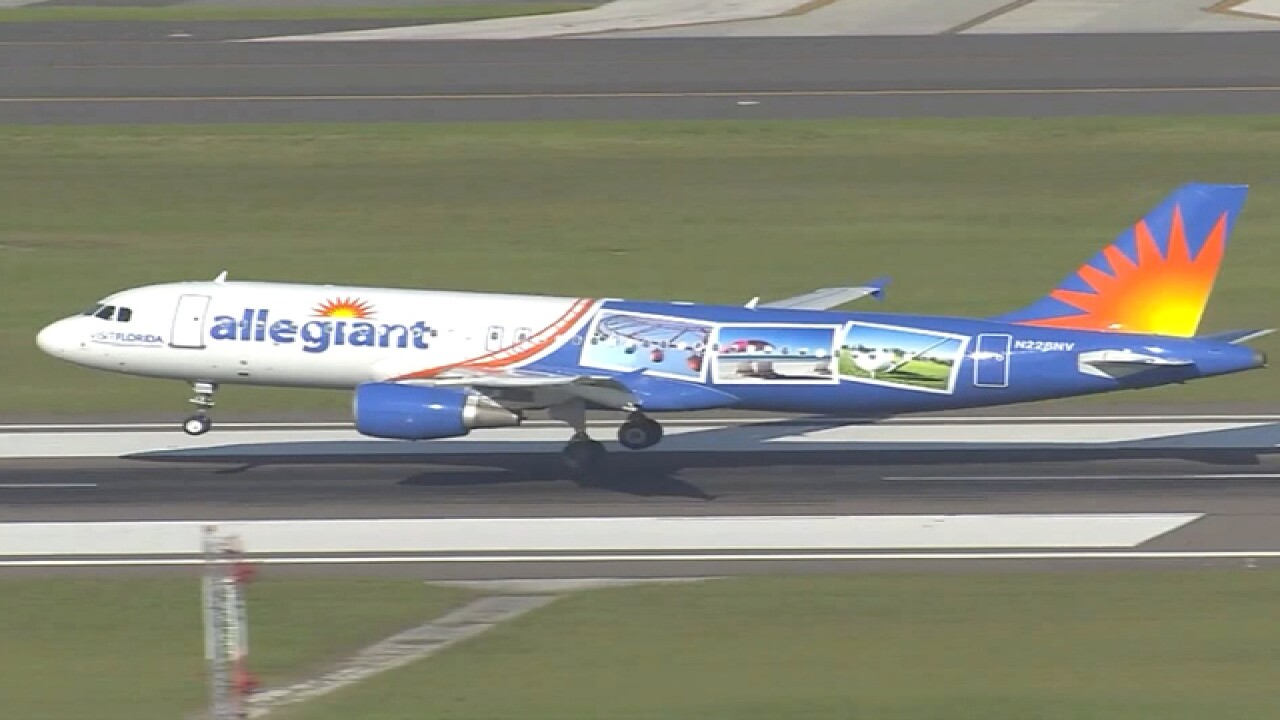 Allegiant plane forced to land two days in a row