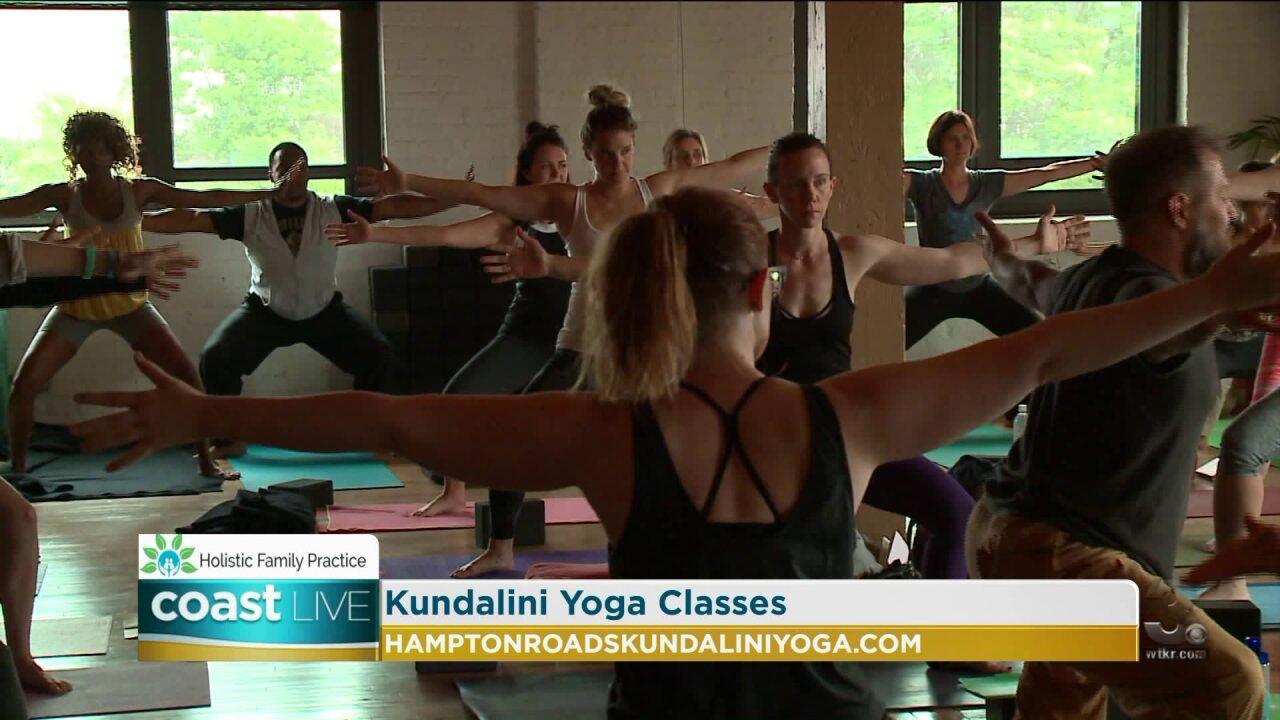 Learning about the benefits of Kundalini Yoga on CoastLive