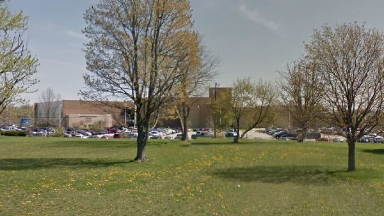 Franklin Central High School had increased security on Tuesday because of online threat