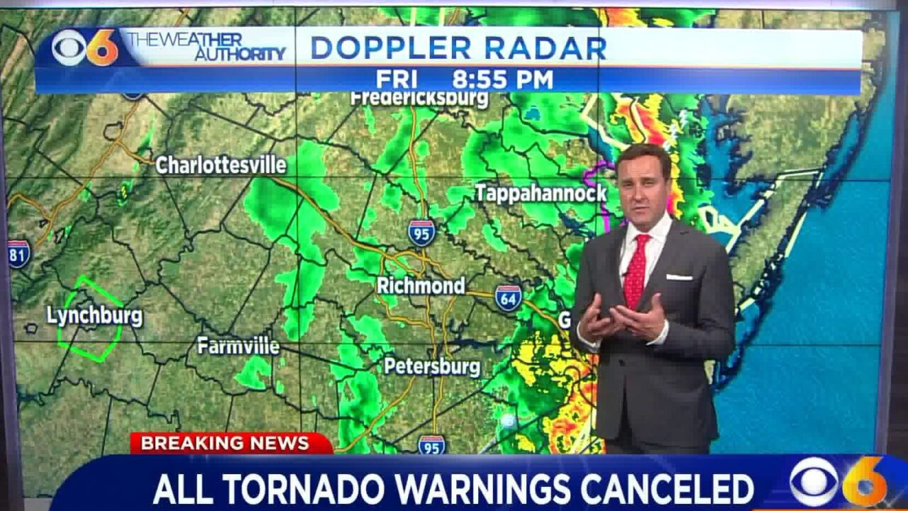 Zach Daniel: 'We're done with this severe weatherevent'