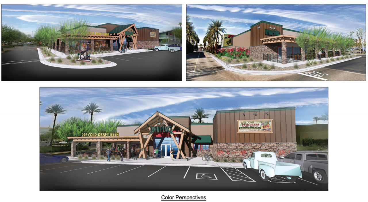 Twin Peaks Tempe Marketplace - artist renderings
