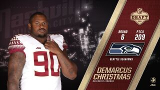 Christmas Selected By Seattle In Sixth Round Of NFL Draft