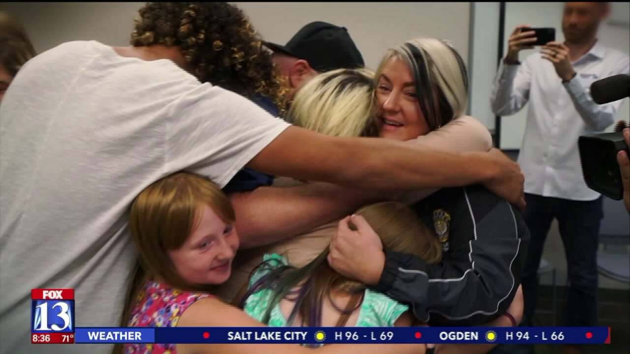 Single mother surprised on the job with life-changing gift from the Fox 13 Dream Team