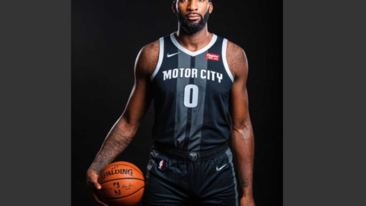 Detroit Pistons unveil new 'Motor City' uniforms