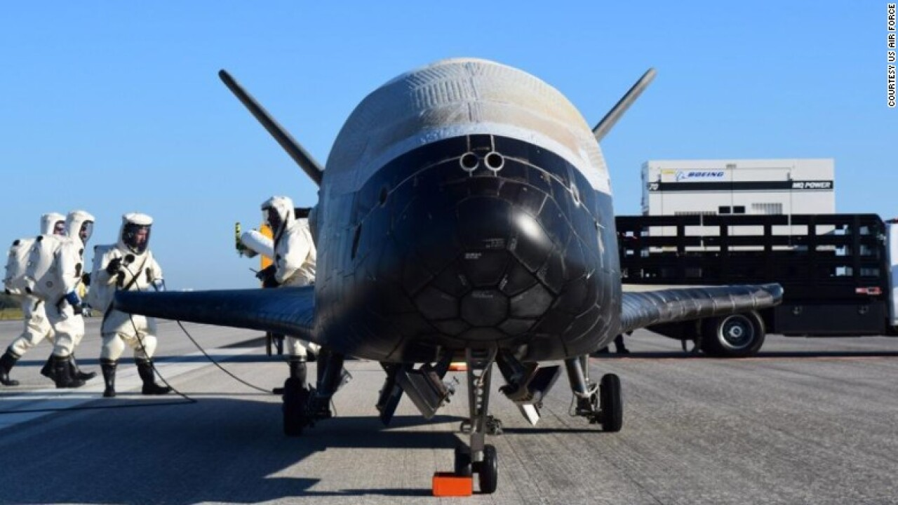 Air Force's mysterious space plane lands after 2 year mission