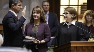 Indiana Senate's 1st new leader in 12 years showing caution