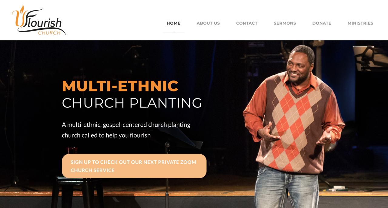 UFlourish Church multi-ethnic church planting