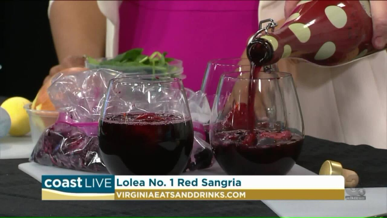 Chef Patrick show us how to make a tasty holiday drink with some special liqueur on Coast Live