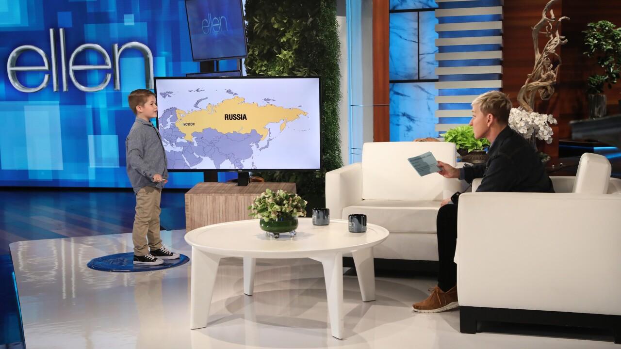 The Ellen DeGeneres Show Collinsville boy