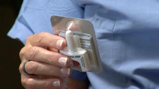 Narcan nasal spray at Swedish Medical Center in Englewood