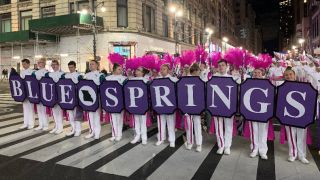 Blue Springs Band Macy's Parade