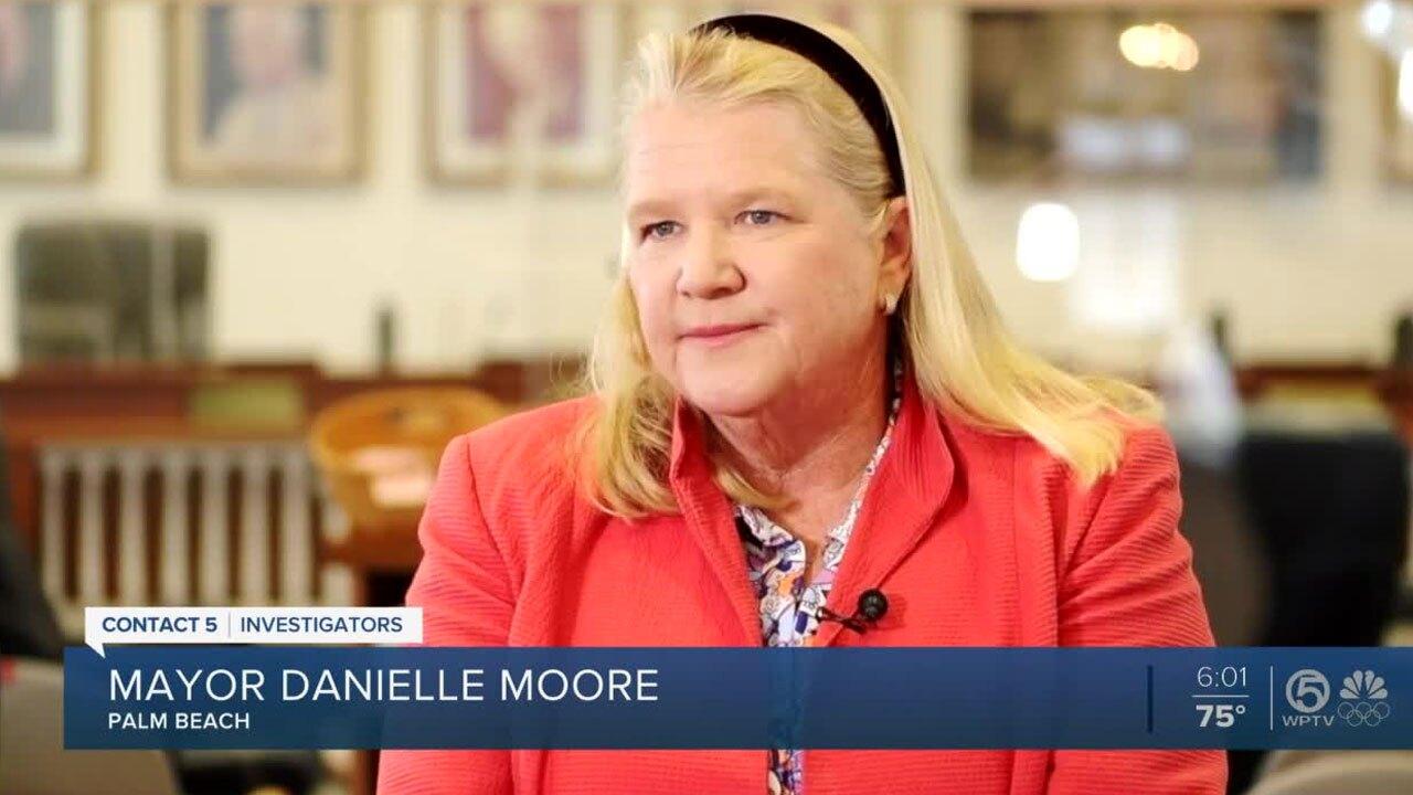 Palm Beach Mayor Danielle Moore