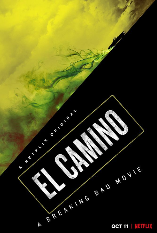 """Promotional art from the movie, """"El Camino - A Breaking Bad Movie,"""" on Netflix."""