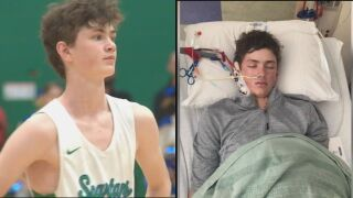 Reichart's Road to Recovery: A teenagers return from the hospital to the hardwood