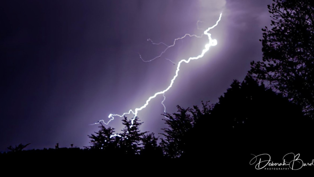 Lightning in the Valley, August 28, 2019