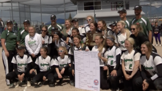 State A softball: Belgrade dominates, wins 3rd consecutive championship