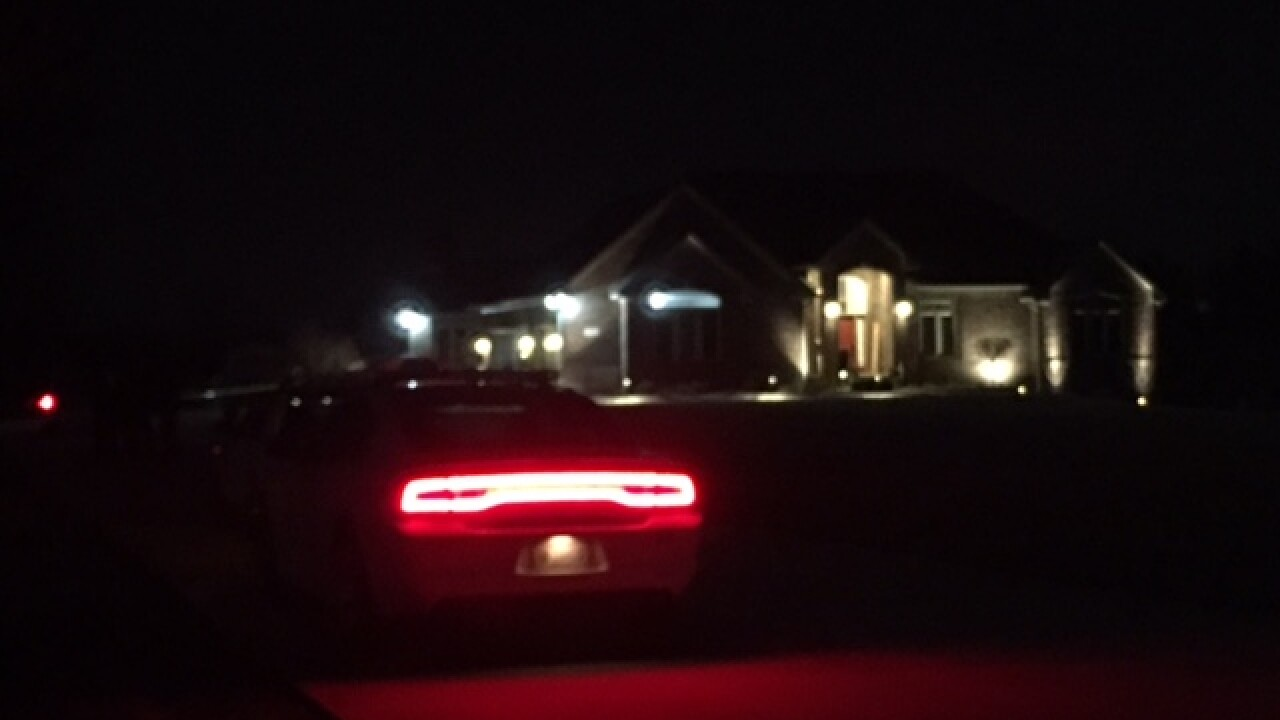 Indianapolis Metropolitan Police Department officers are investigating a home invasion in Franklin Township, southeast of Indianapolis, where a homeowner shot a suspect.