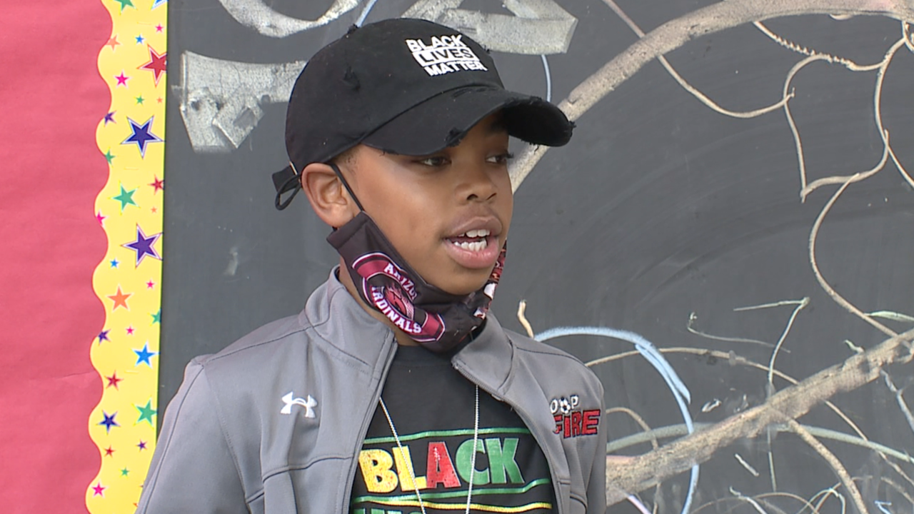 9-year-old Cleveland boy tackles city's illiteracy issues by starting reading organization