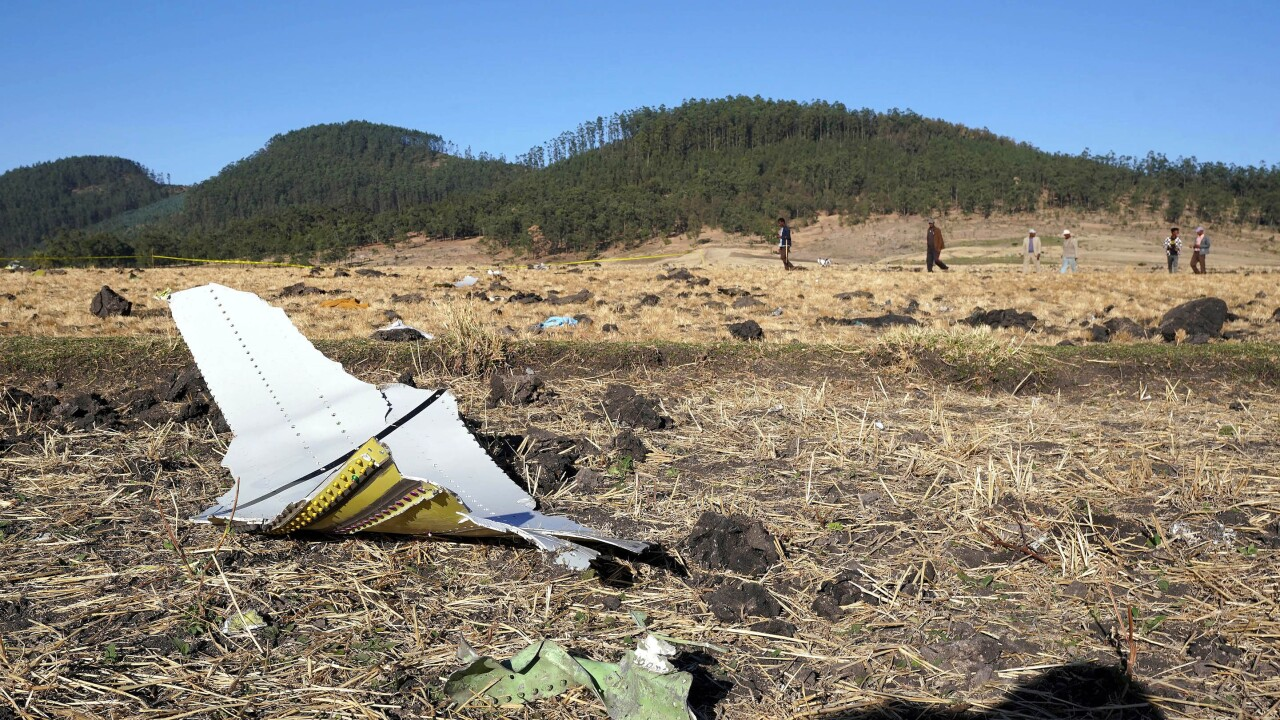 Ethiopian Airlines Nairobi-Bound Flight Crashes Killing All 157 On Board
