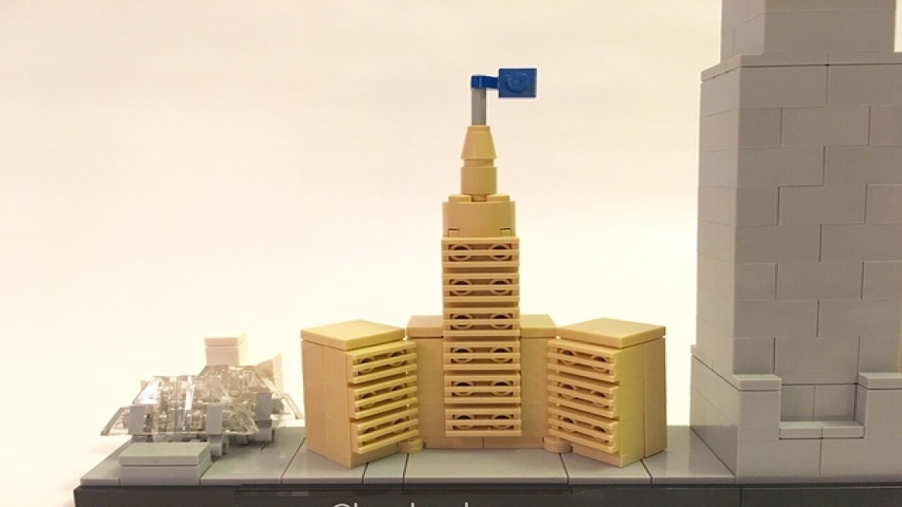 Could our skyline be the next LEGO creation?
