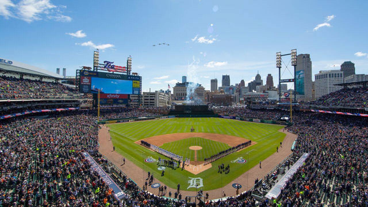 Tigers postpone Wednesday's game against Royals