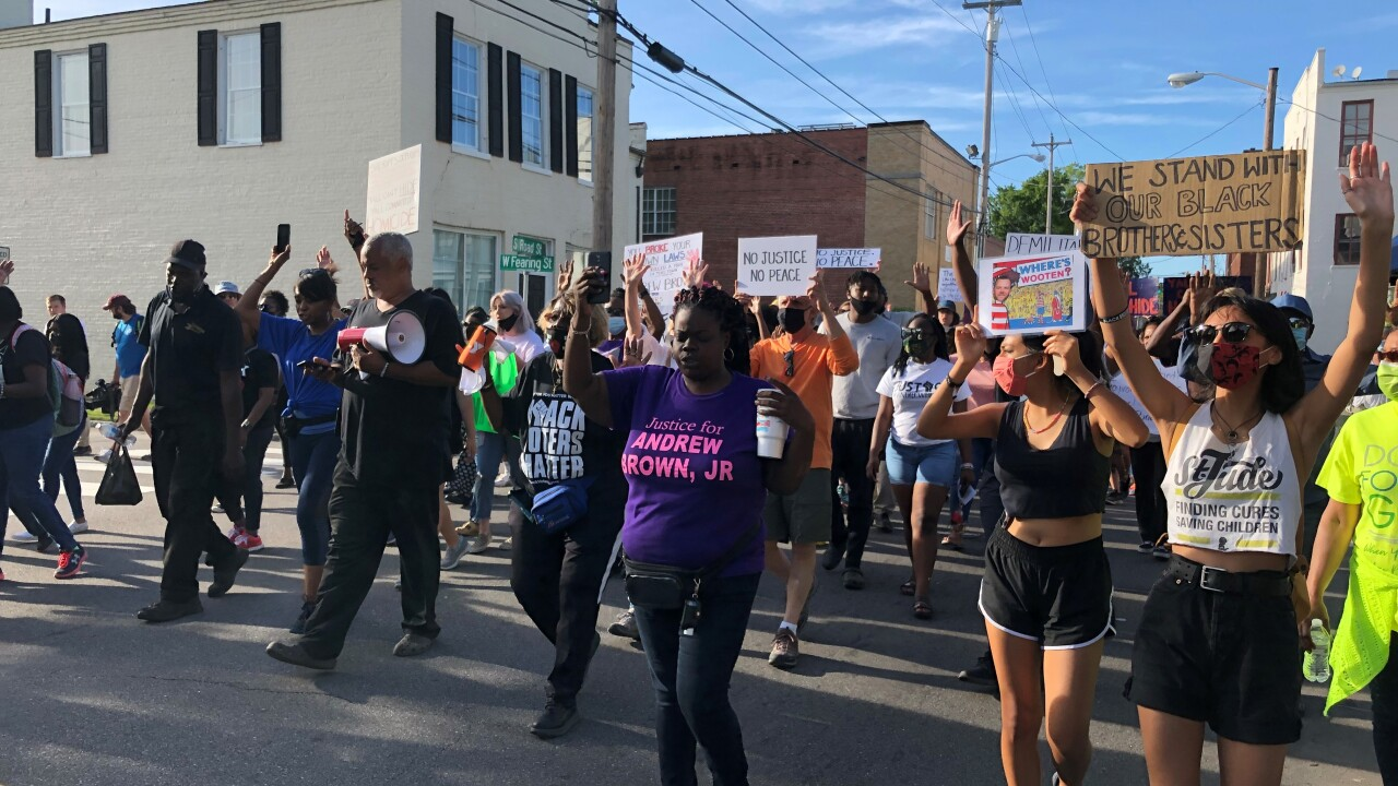 Andrew Brown Jr. protest (May 18).jpg