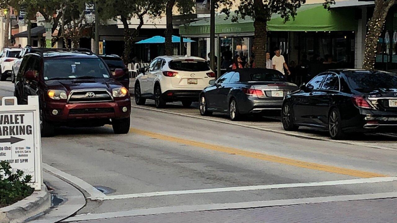 Delray Beach street parking