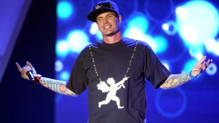 Recording Artist Vanilla Ice performs onstage at the 3rd Annual Streamy Awards at Hollywood Palladium on February 17, 2013 in Hollywood, California.
