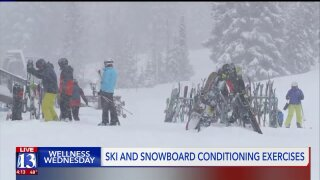 Wellness Wednesday: How to get your body ready to hit theslopes