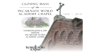 IWA is closing down their chapel with one final mass