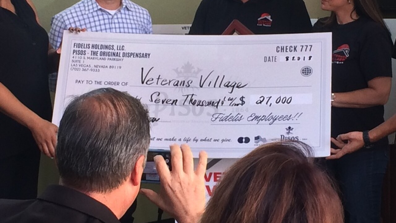 Local dispensary giving back to veterans