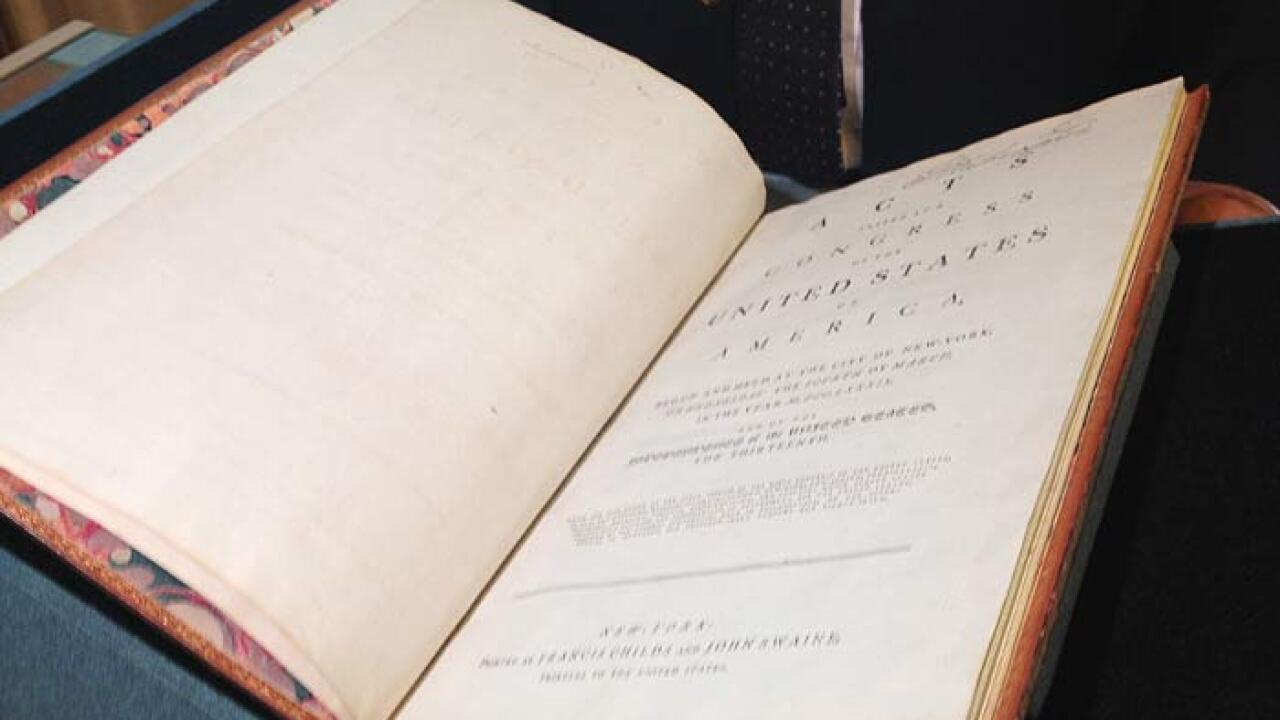George Washington's personal Constitution goes to auction